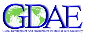 Logo for Global Development and Environment Institute at Tufts University