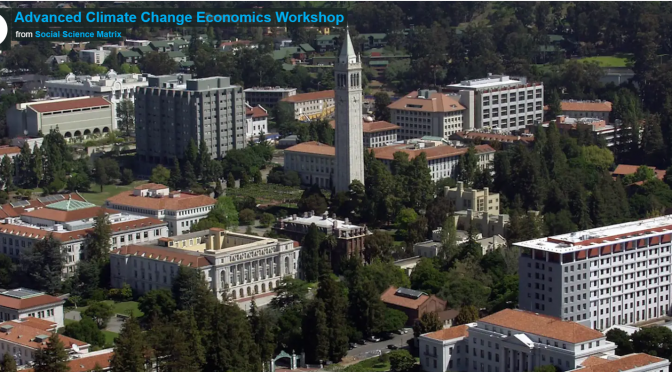 Call for Papers: UC Berkeley Climate Economics Workshop